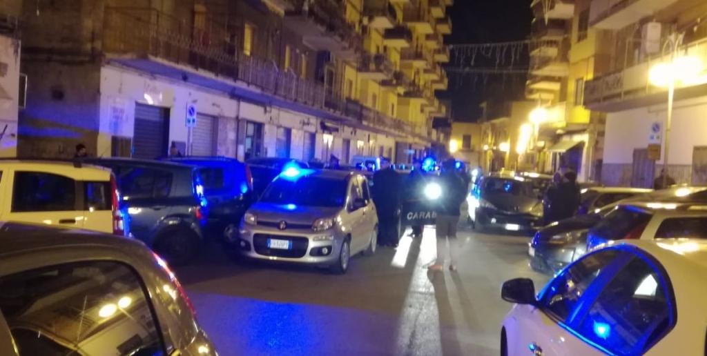 Blitz droga carabinieri Pagani