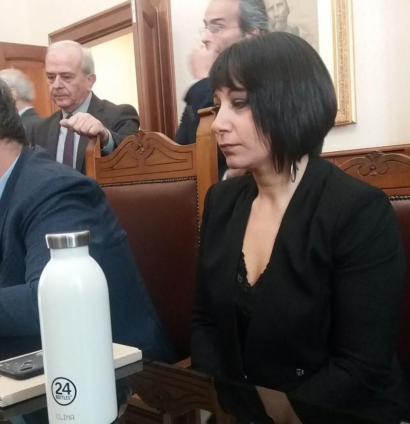 Nicoletta Fasanino borraccia