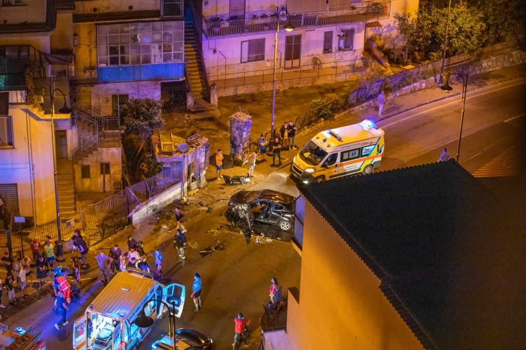 incidente stradale Nocera Inferiore