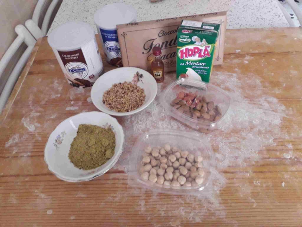 tartufi ingredienti